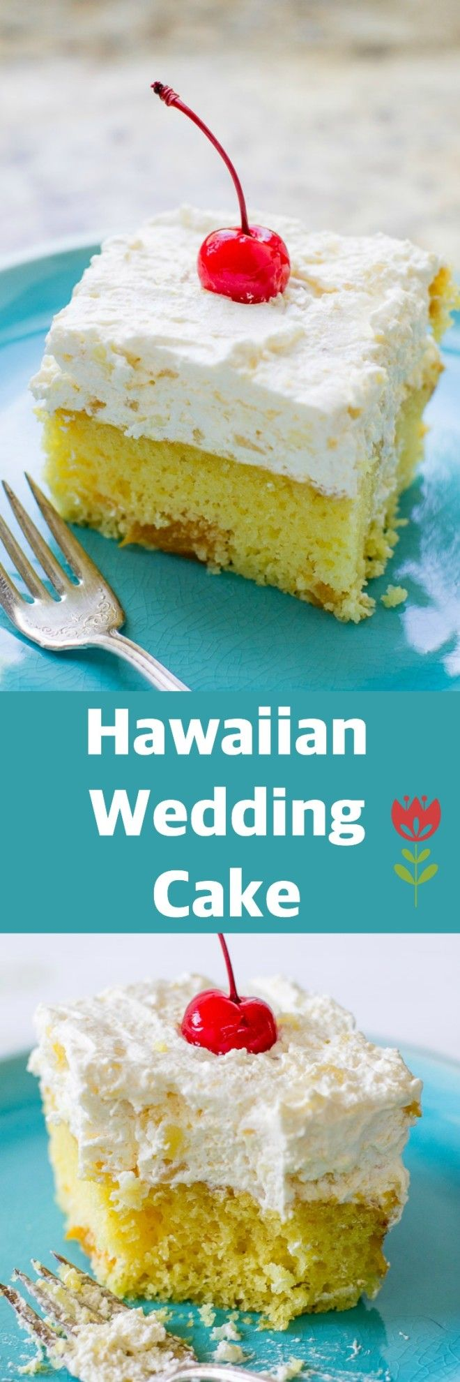 With oranges in the batter and pineapple in the frosting Hawaiian