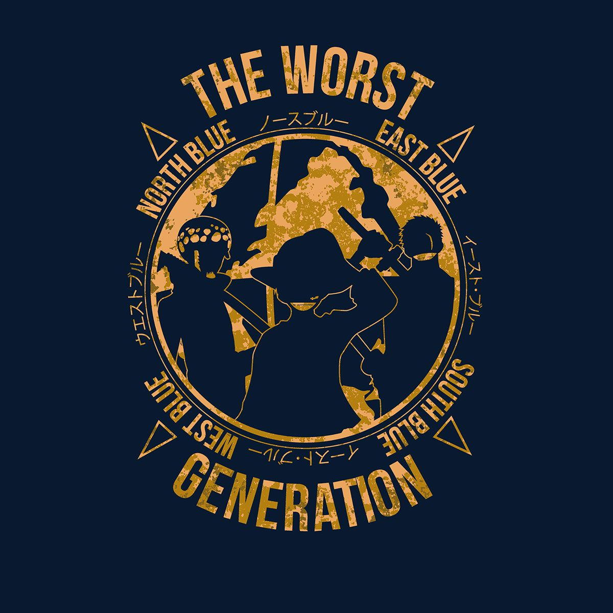 Worst Generation Kaido One Piece One Piece Images One Piece