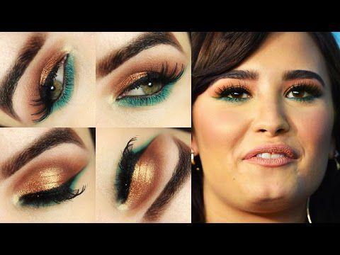 Makeup Demi Lovato e o que eu mudei na minha maquiagem? - YouTube