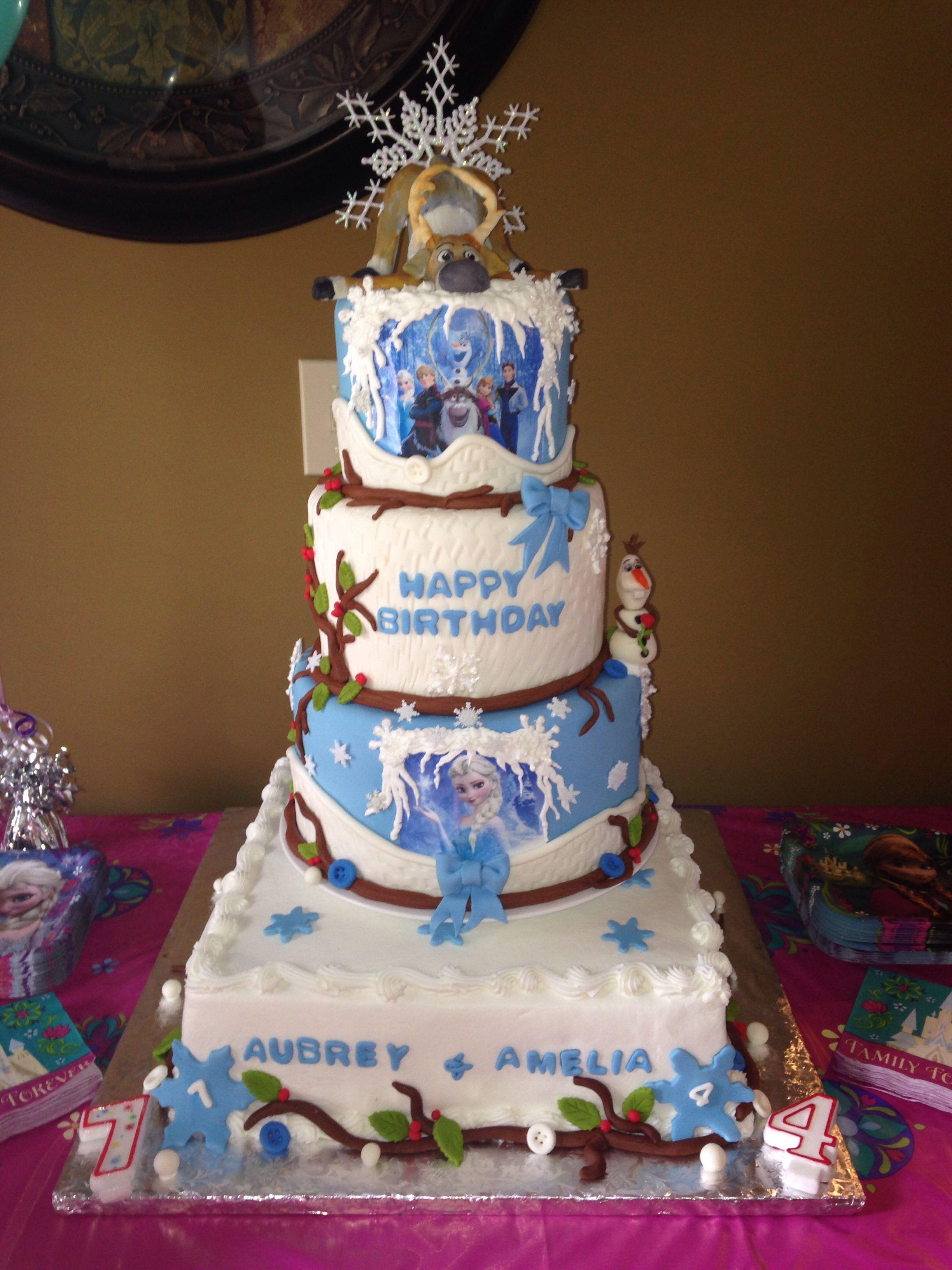 Frozen Birthday Cake Bd