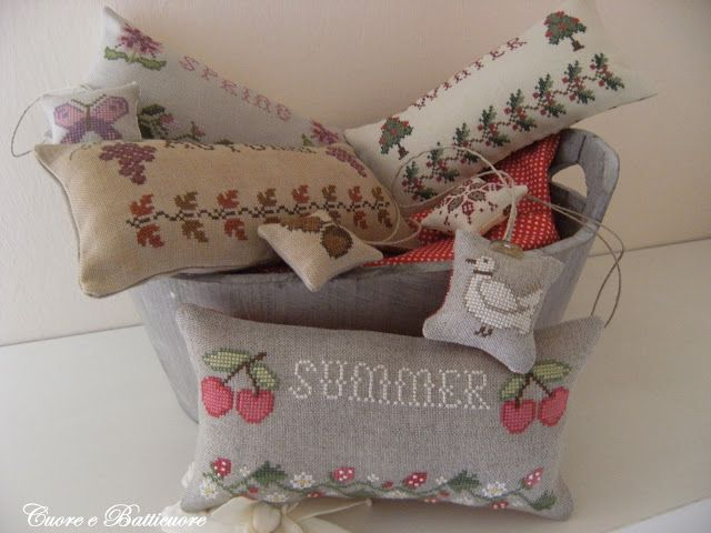 lovely pincushions