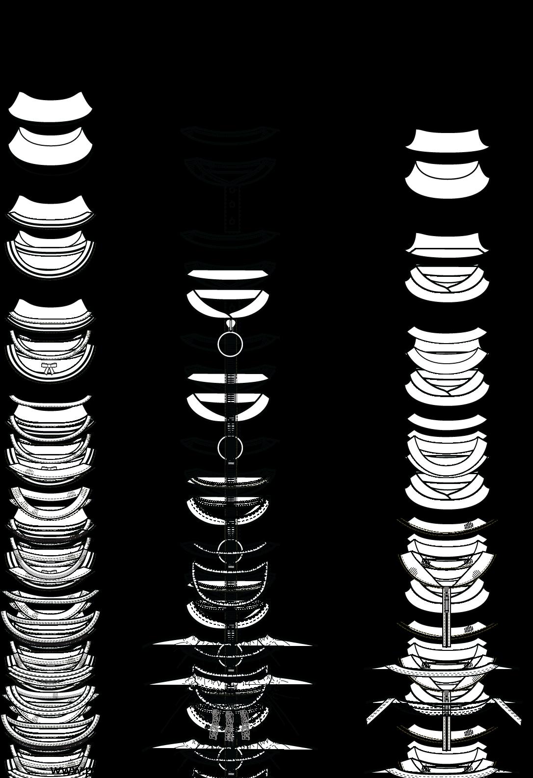 Neckline Drawing : Image description flat fashion illustrations pinterest