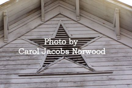 Another view of the famous, historic Star Barn in Lebanon County, PA.  Photo by Carol Jacobs Norwood.