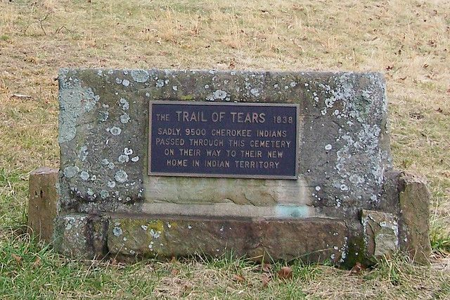 Photo of Trail of Tears Monument