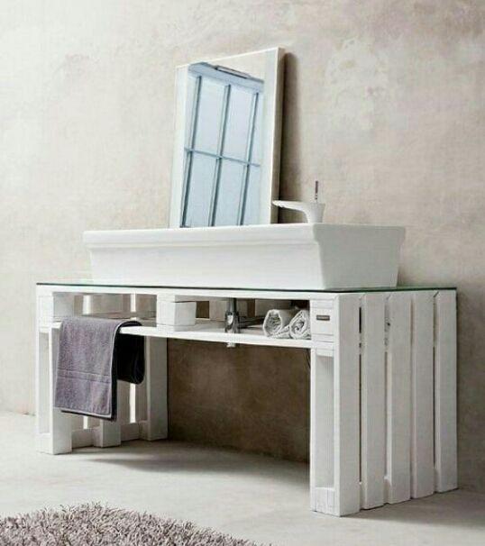 Mueble para bacha Hogar Pinterest Baños, Baño y Muebles para baño - mueble minimalista
