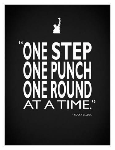 'Creed One Punch' Giclee Print - Mark Rogan | Art.com