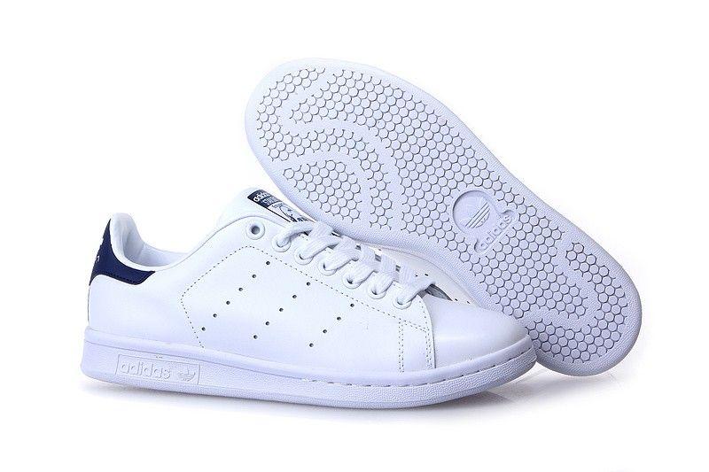 competitive price 8fc14 8b46e 1009   Adidas Stan Smith Herr Blå Vit SE682641FMzWxhdPe