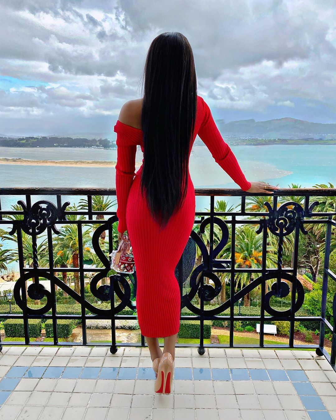 Marii Pazz On Instagram In Myoutfitonline Dress Use My Code Pazz For 20 Discount Fashion Clothes Women Red Sweater Dress Fashion [ 1350 x 1080 Pixel ]