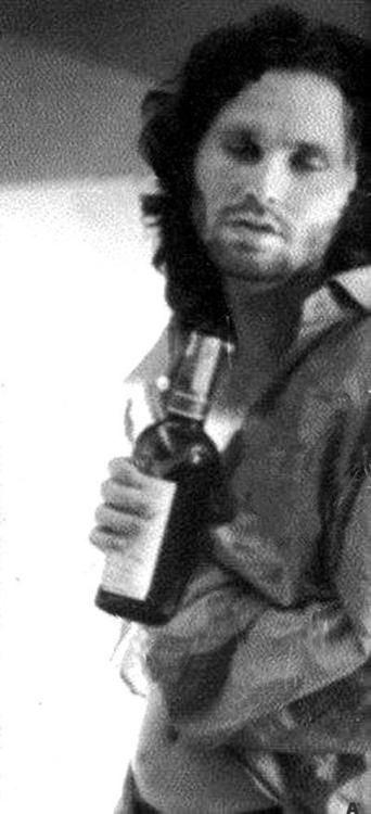 Image result for jim morrison drinking