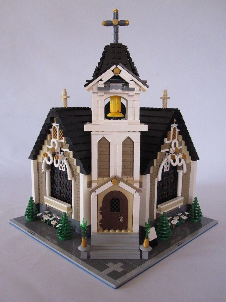 lego creator modular haus kirche moc lego modular pinterest lego lego ideen und lego bauen. Black Bedroom Furniture Sets. Home Design Ideas