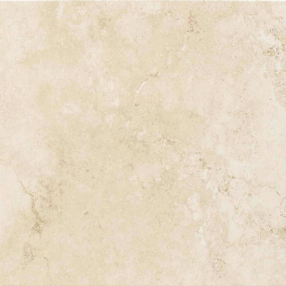 Trafficmaster Atlantic Beige 12 In X Ceramic Floor And Wall Tile 10 98 Sq Ft Case 110011017 The Home Depot