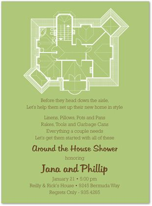 Home \ Gardern Bridal Shower Invitations, New House Plans Green - new blueprint background image