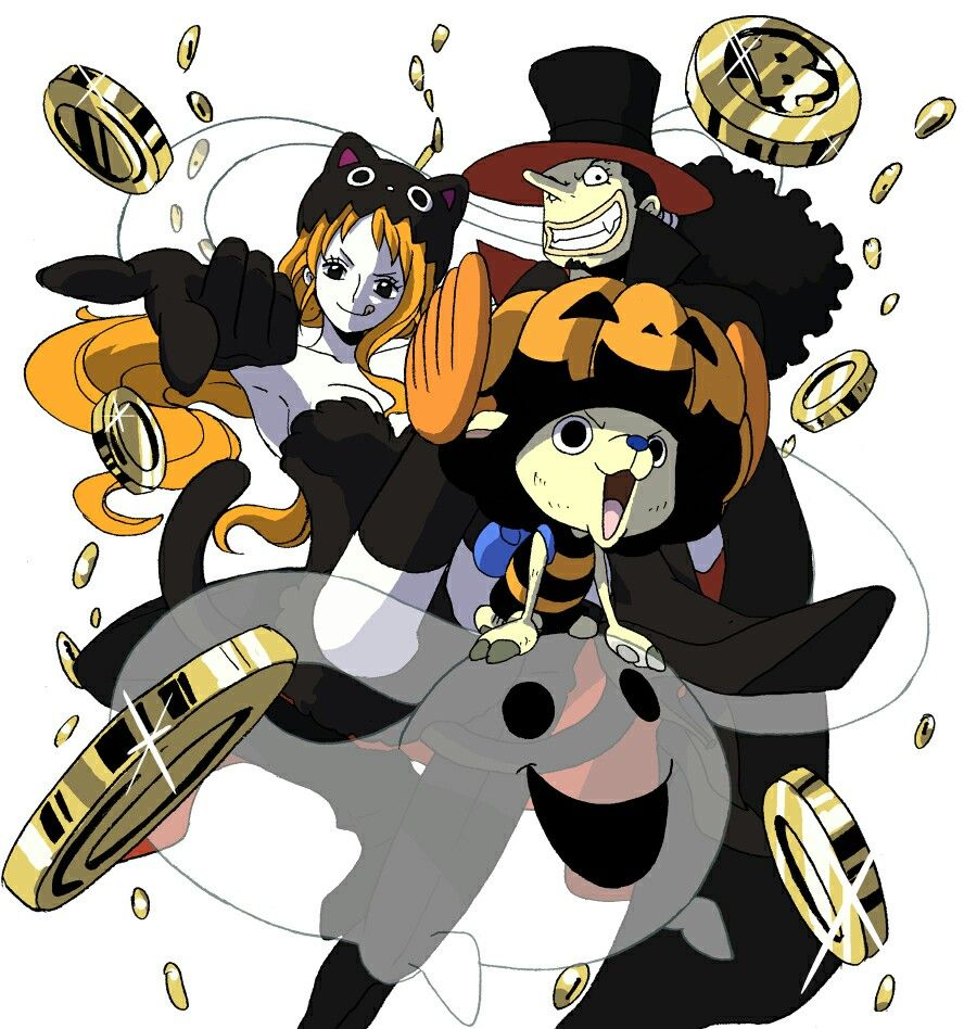 Happy Halloween, Nami, Usopp, Chopper, The Weakling Trio