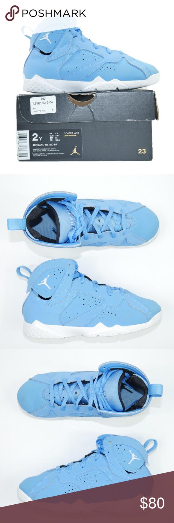 """Pre School Sizes Nike Air Jordan Retro 7 /""""Pantone/"""" Athletic Fashion 304773 400"""