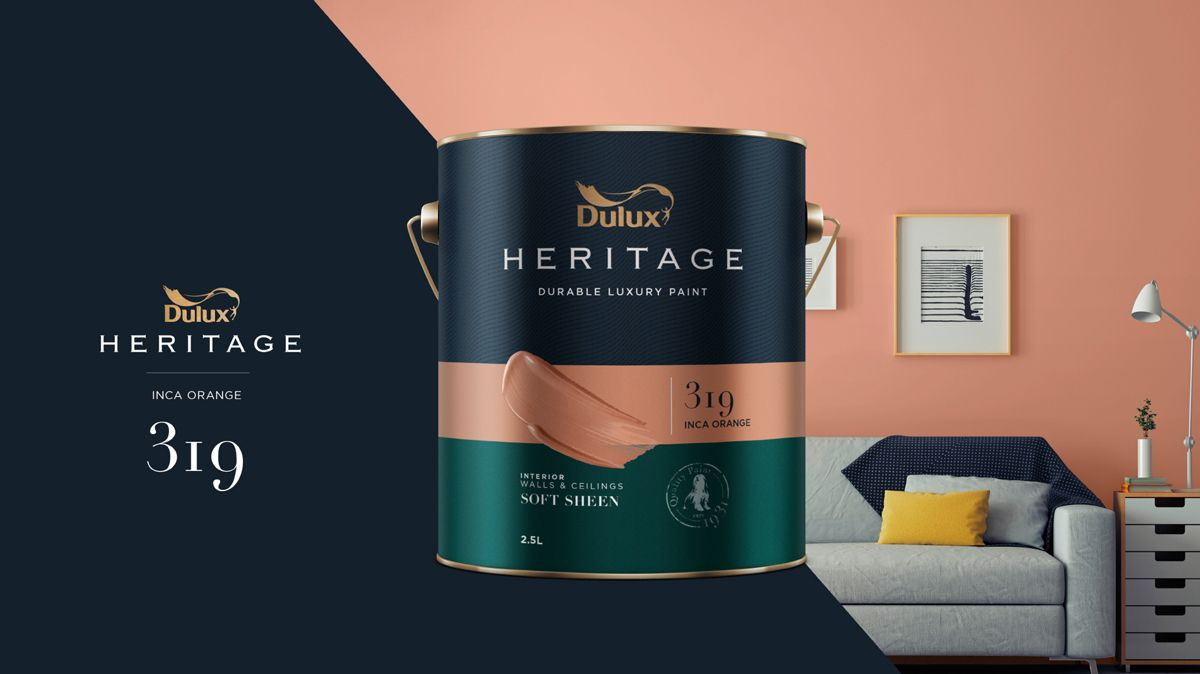 Concept Dulux Heritage Packaging Design Concept On Behance