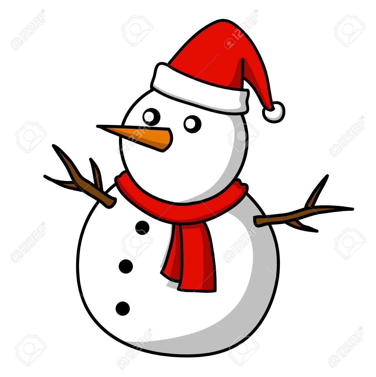 15559112 dessin de bonhomme de neige de no l banque d 39 1299 1300 cours dessin - Clipart bonhomme de neige ...