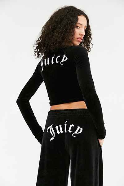 Juicy Couture For Uo Wide Leg Velour Pant Juicy Couture Velour Pants Fashion