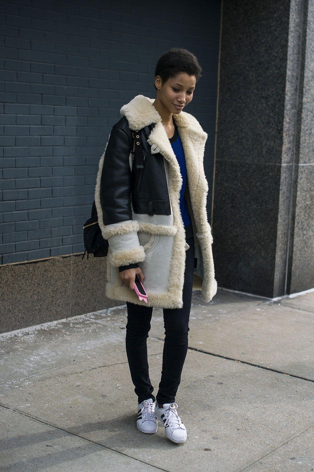 New York Street Styles | Schön warm