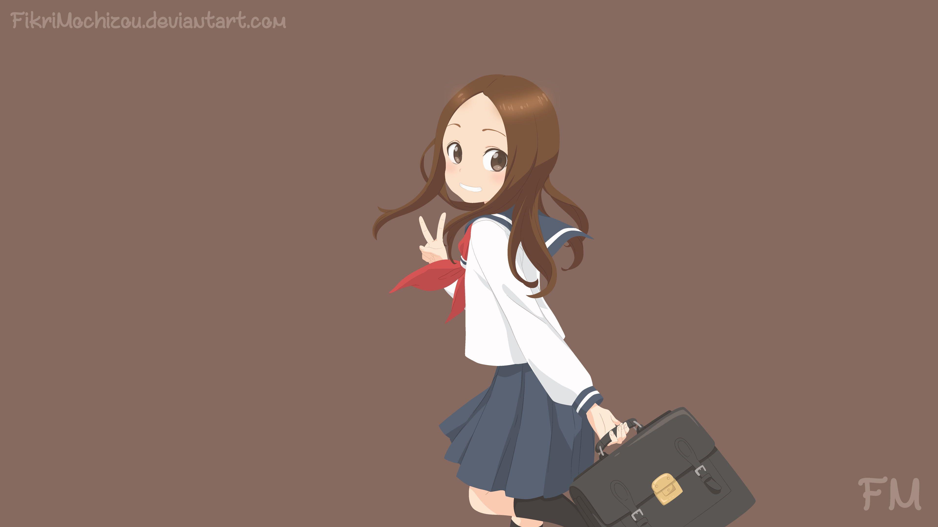 Anime Karakai Jouzu No Takagi San Takagi Karakai Jouzu No Takagi San 4k Wallpaper Hdwallpaper Desktop Anime Latest Hd Wallpapers Hd Wallpaper