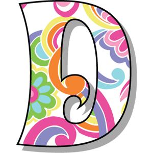 Buchstabe Letter D Alphabet Letters Design Bubble Letter Fonts Alphabet Templates