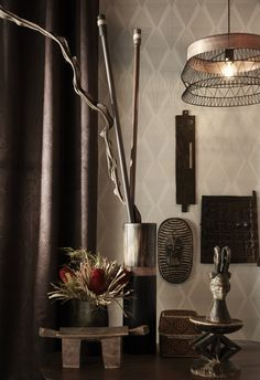 La Suspension Design Manam métal noir refl¨te bien la tendance