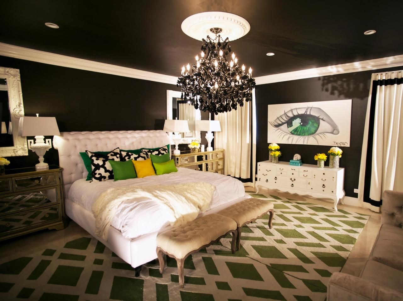 Bold And Beautiful Bedrooms Bedroom Decorating Ideas For Master