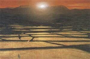 岩橋英遠「暎」 | 風景、絵画、近代