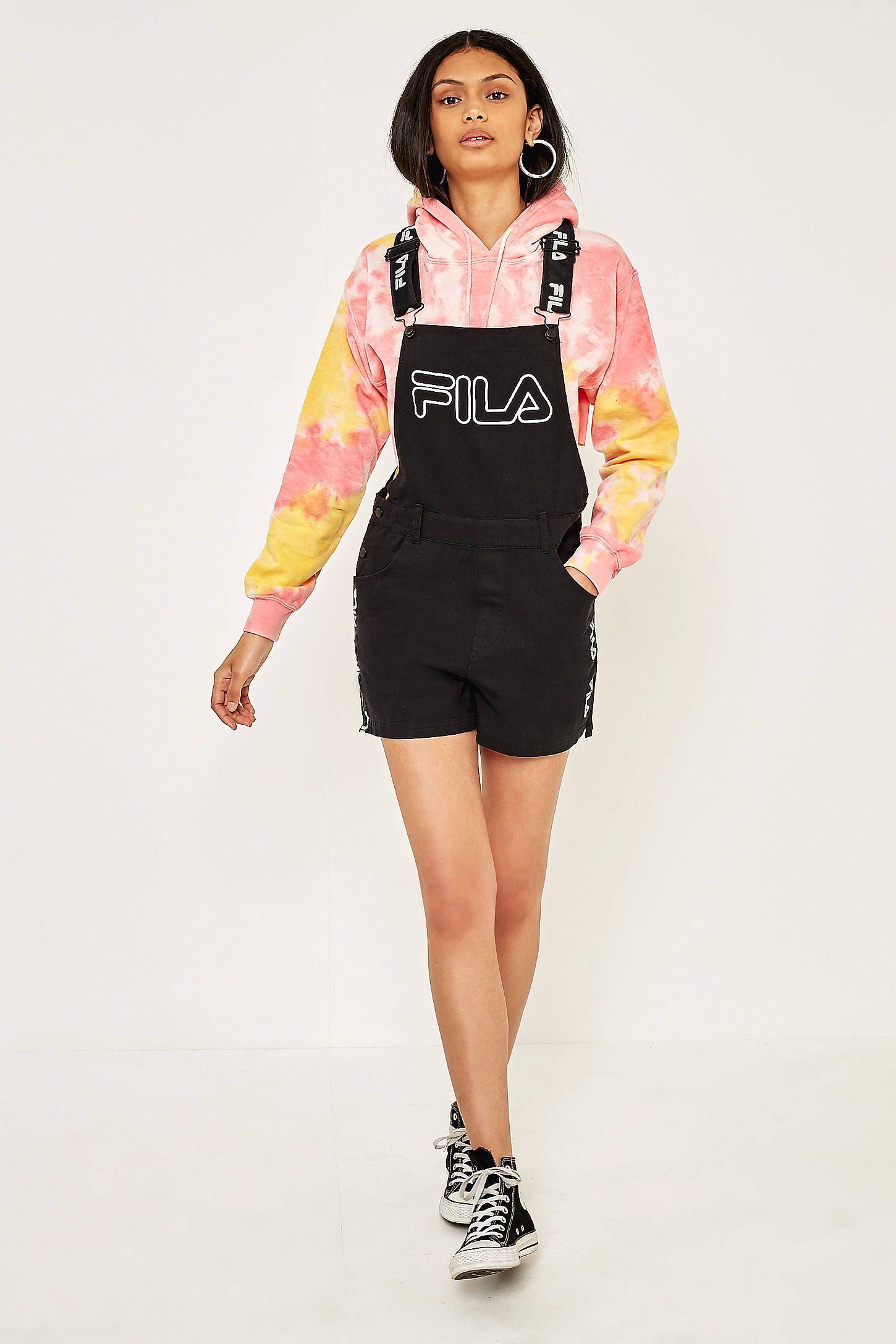fila shorts overalls
