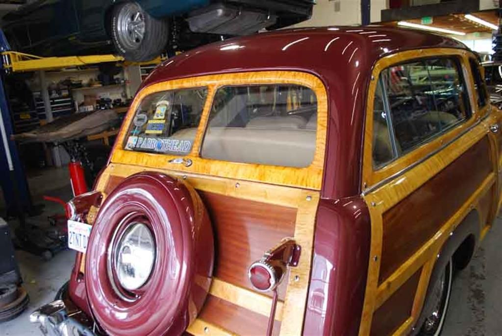 1950 Ford Woody by J T Enterprise in San Diego CA . Click