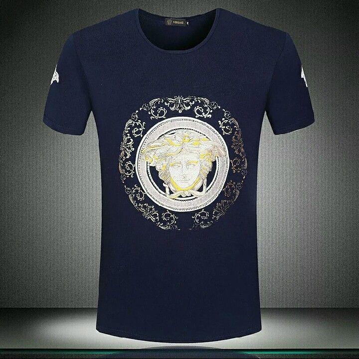 Versace Shirt Size Medium 2xl Mens Tshirts Versace T Shirt Men Versace Medusa T Shirt