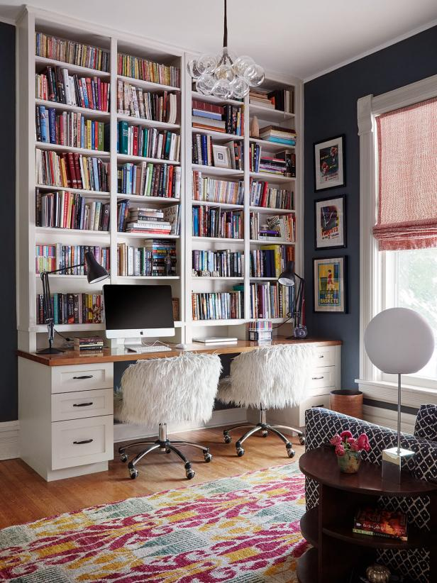 Ikea Home Office Library Ideas: Pin By Carol Yip On Interior Design Inspo