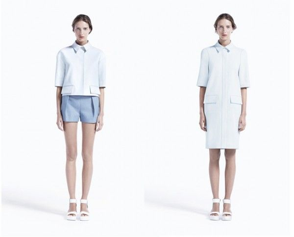 COS WOMENS AND MENS S/S 2012 LOOKBOOK