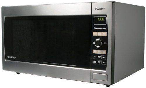 Panasonic Prestige Nn Sd997s 2 2cuft 1250 Watt Sensor Microwave Oven Stainless Steel Really Love Stainless Steel Microwave Stainless Microwave Microwave