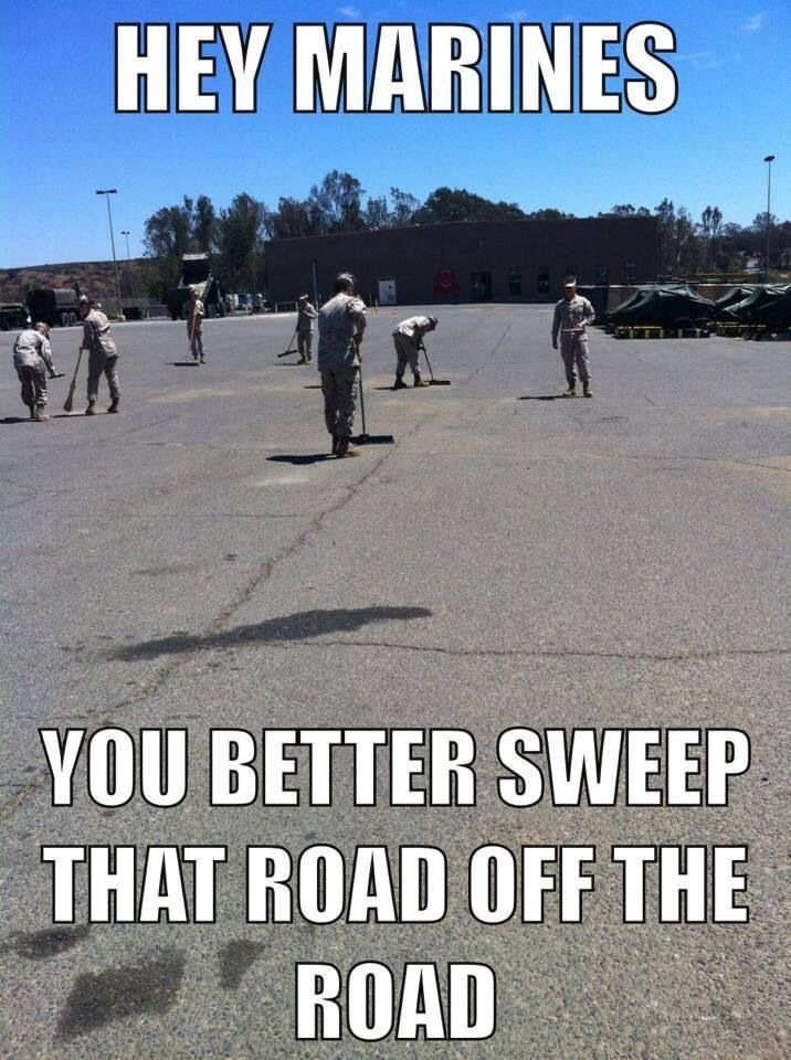 Marine Corps, most people won't get this, still laughing