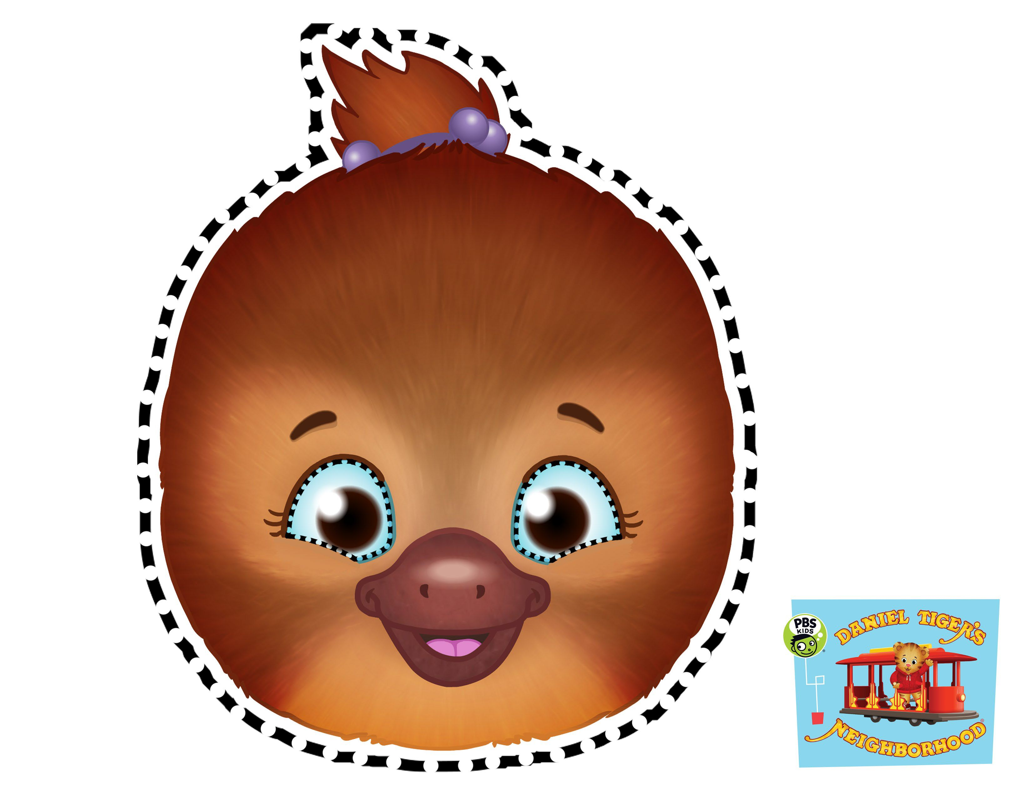 Kids Can Dress Up As Jodi Platypus From Daniel Tiger S