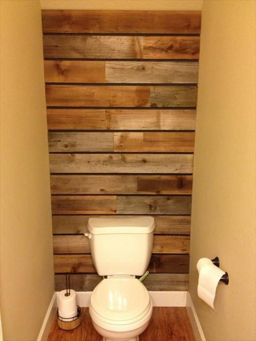 17 Rustic Bathroom Ideas You Can Make With Pallet Wood