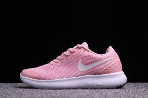 5dcb890438a Womens Nike Free Run 6. 0 Pink White Running Shoes