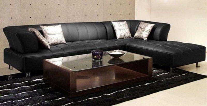 Leder Sectional Sofa Für Kleine Räume - Deko Ideen mit ...