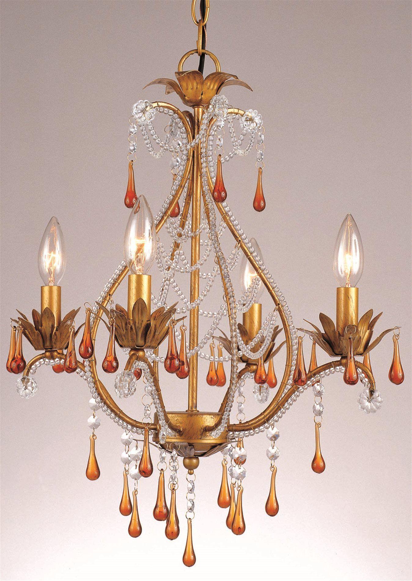 South Shore Decorating: AF Lighting 4940-4H Josephine Traditional Chandelier AF-4940-4H