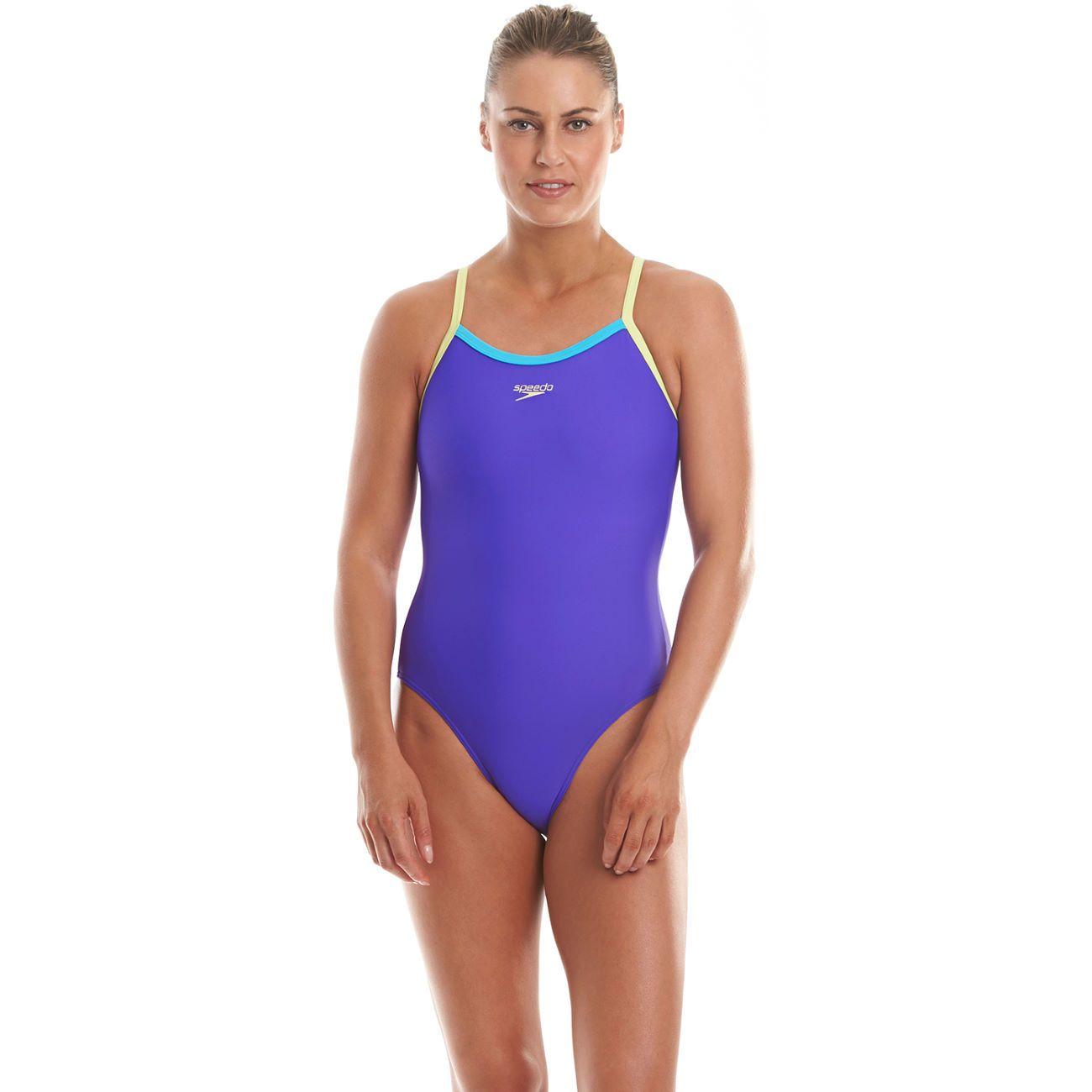 e6e7ea55c1843e Wiggle Netherlands | Speedo Women's Thin Trap Muscle Back Swimsuit SS14  Swimwear Ladies