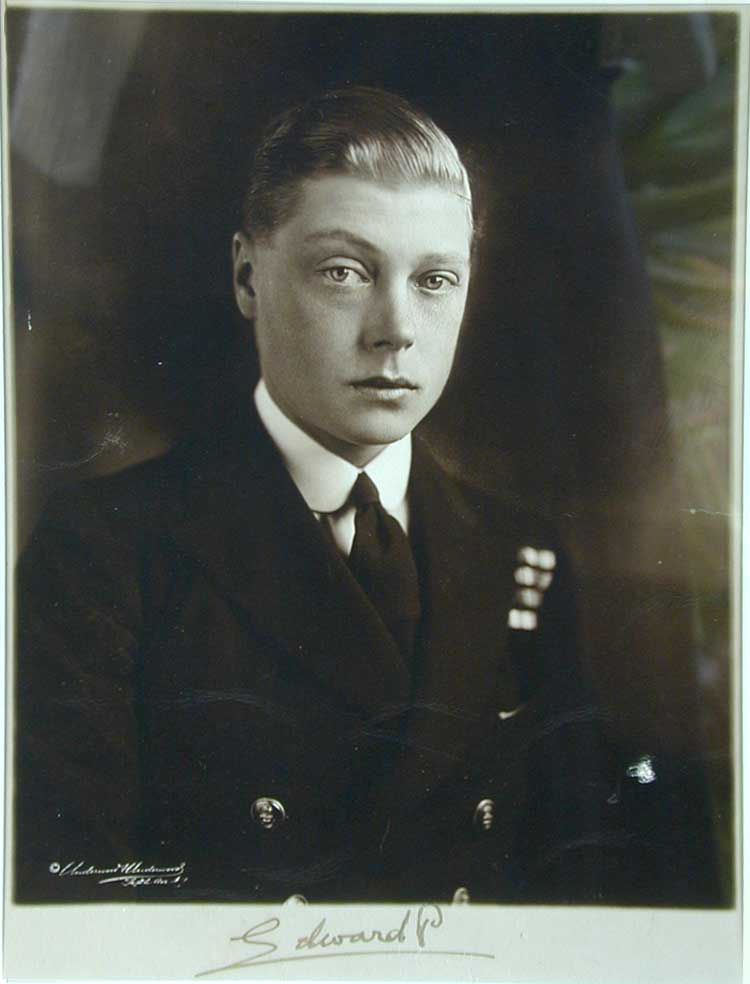 King Edward VIII,1919.