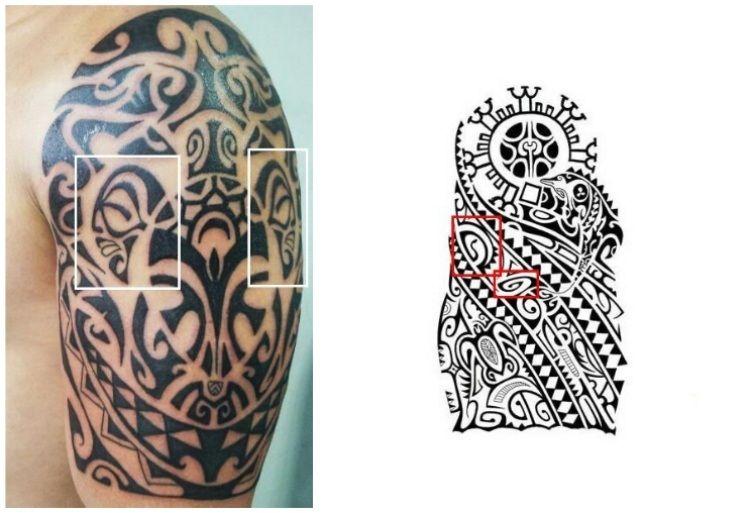 bf19d6721 Polynesische Tattoo zeichen - Tiki Symbol | tats | Maori tattoos ...