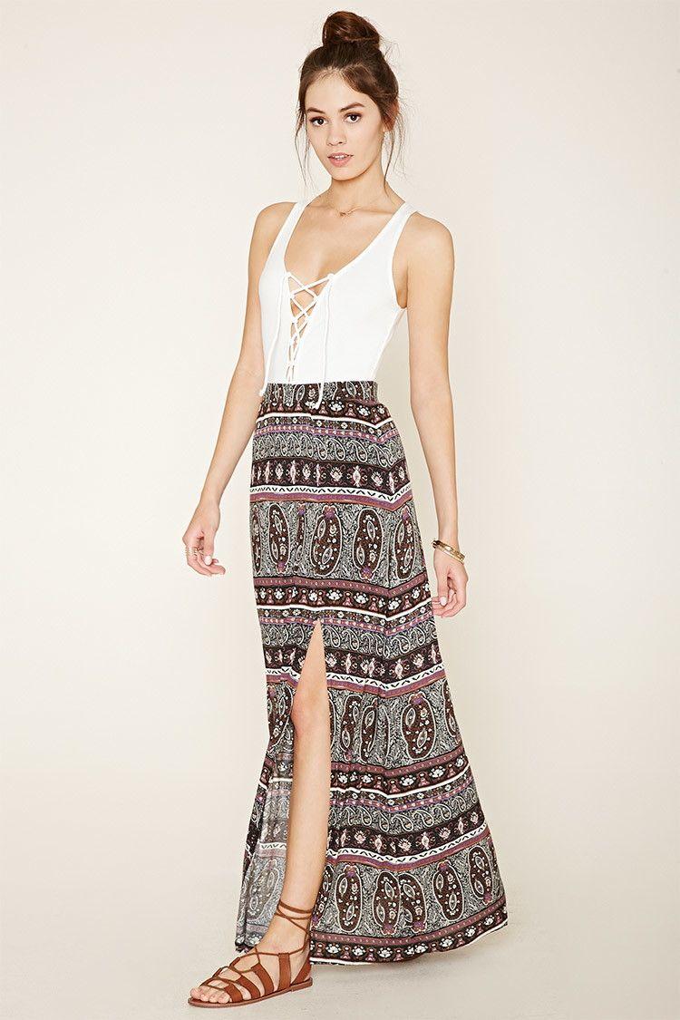 Paisley summer dress forever 21