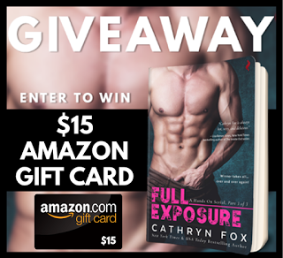 Full Exposure (Hands On #3) by Author Cathryn Fox - Blog Tour, Excerpt & #Giveaway #EntangledScorched #Erotica #Serial