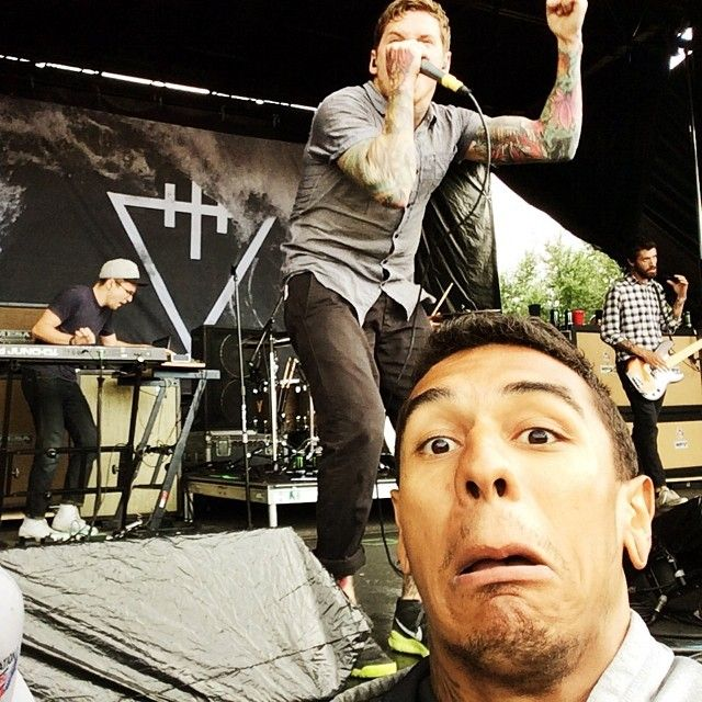 Mattie Montgomery of  For Today  epic face at a  The Devil Wears Prada   show! b2db1d0517
