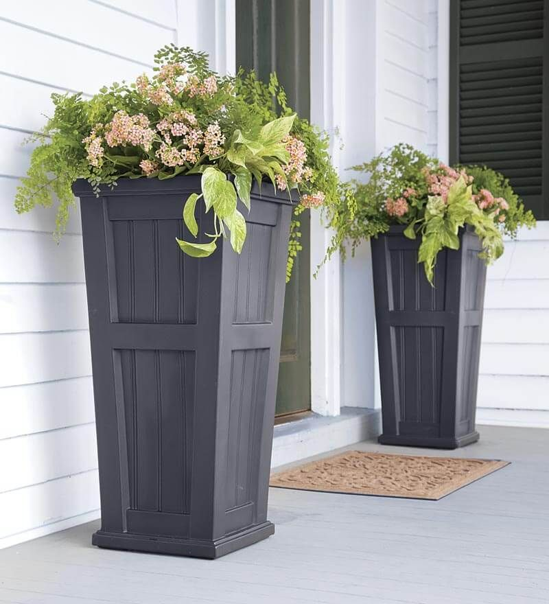 Good Lexington Tall Planter | Deck Planters | Raised Gardening, Raised Planter,  Easy Raised Gardening