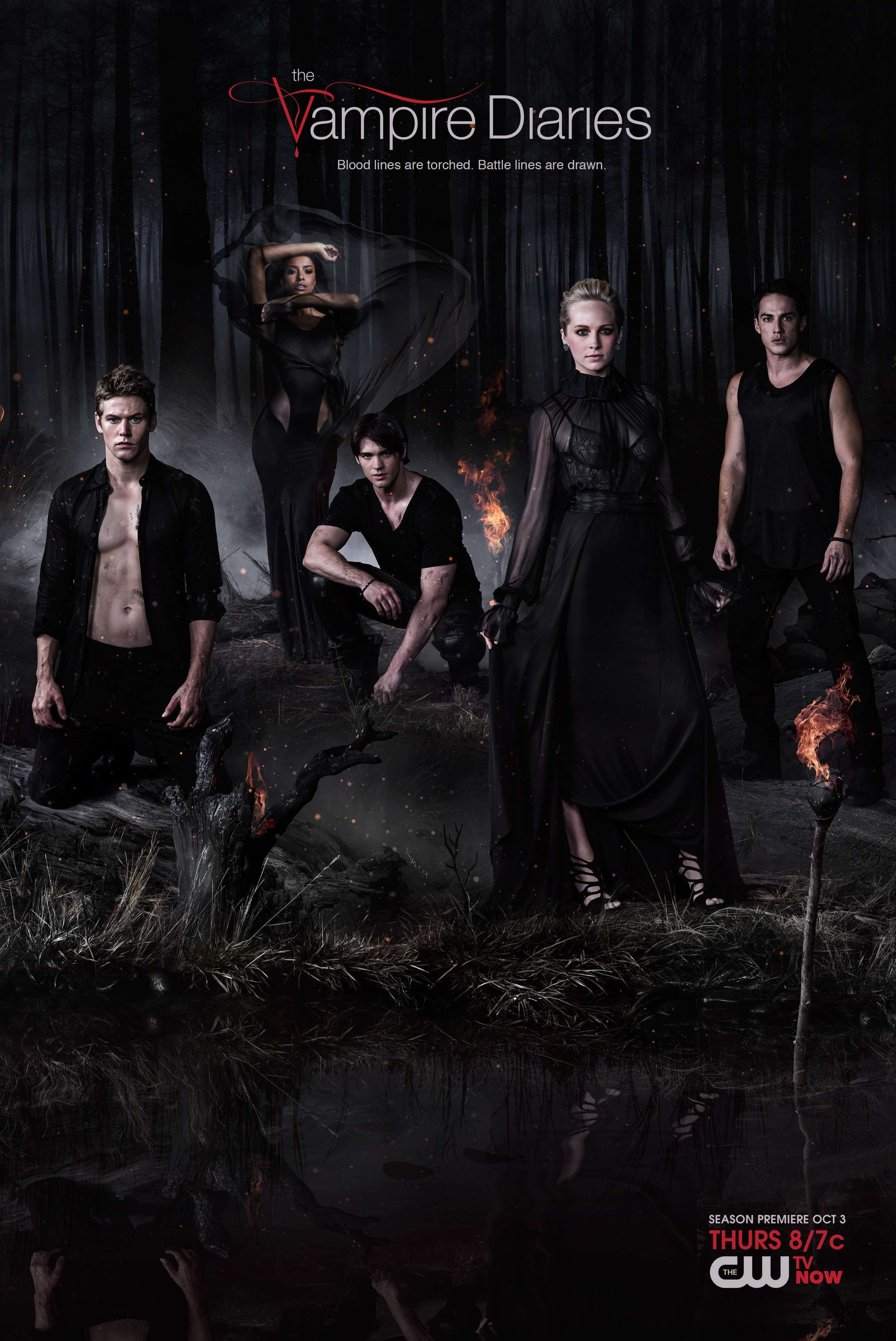The Vampire Diaries Season 5 Poster Com Imagens Vampire