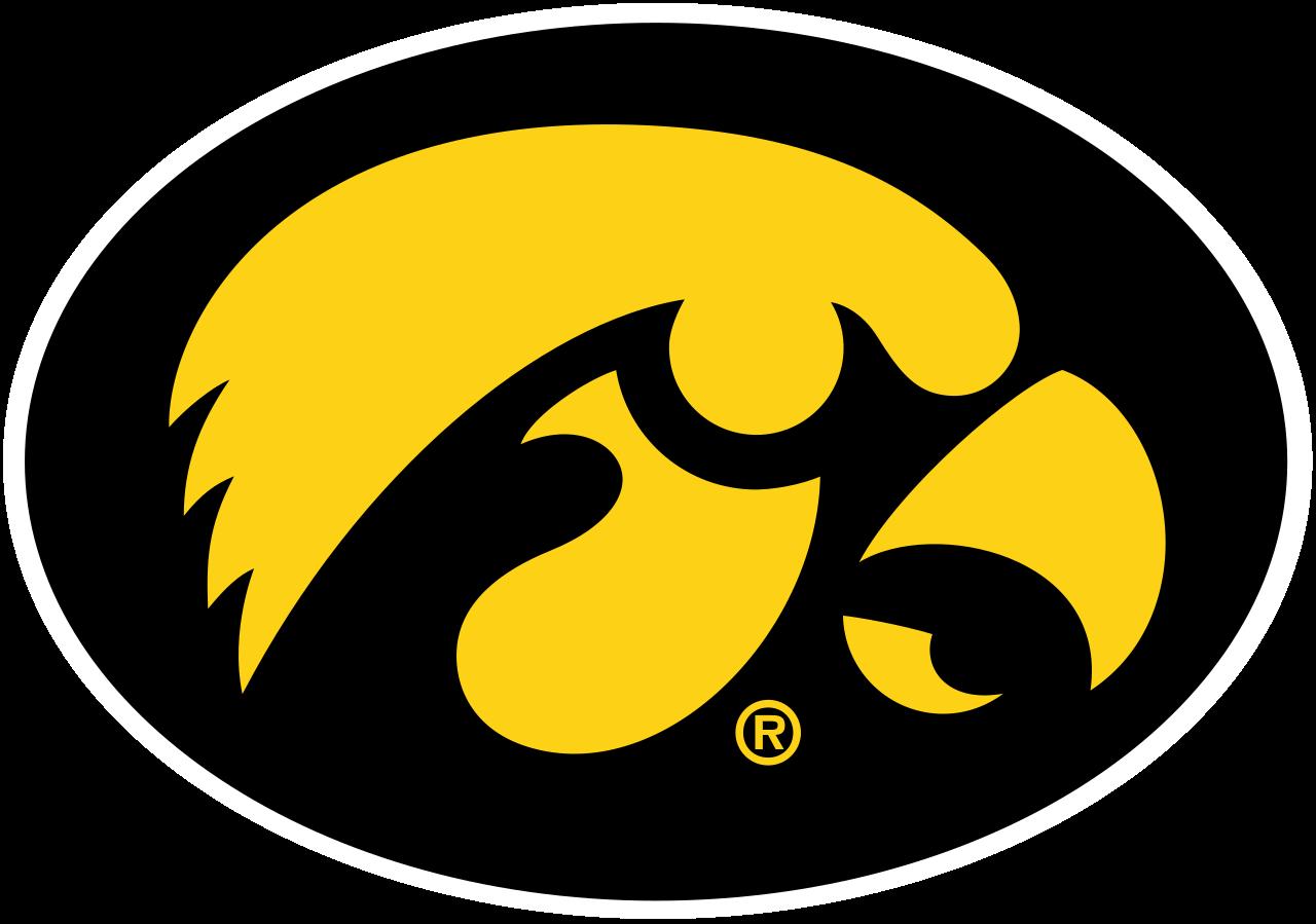 Pin By Logo Charts On Sports Iowa Hawkeyes Hawkeyes Iowa Hawkeye Football