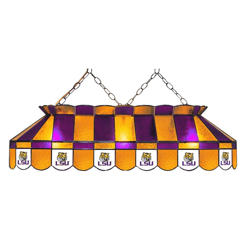 Lsu Tigers Billiard Table Light