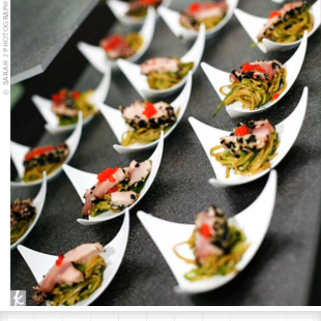 For A Modern Wedding: Catering Ideas